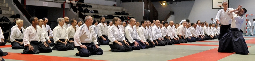 Stage aïkido traditionnel avec Alain Peyrache shihan du dojo international Epa Ista